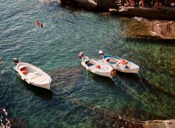 Manarola Boats