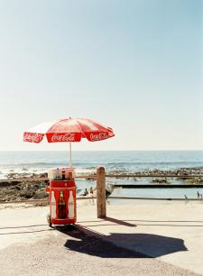Beach at Cape Town