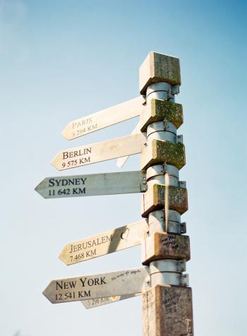 Cape Town Distance Pole