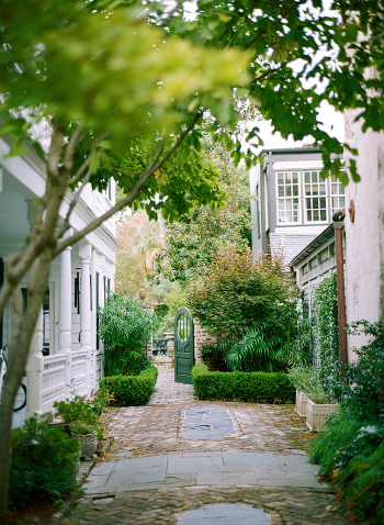 Charleston Historic District Courtyard