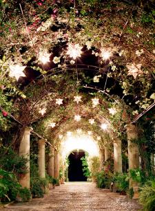 Courtyard in Hacienda las Trancas