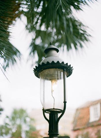 Lamppost in Charleston