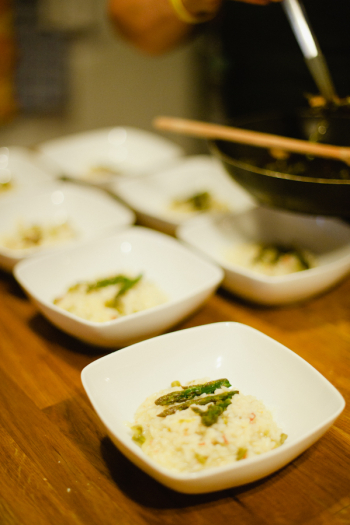 Risotto in a Tuscan Cooking Class