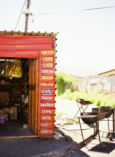 Roadside Restaurant in Cape Town