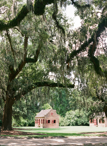 Slave Quarters at Boone Hall Plantation