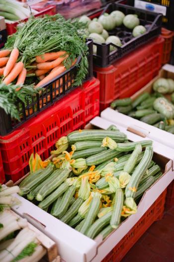 Market in Cortona