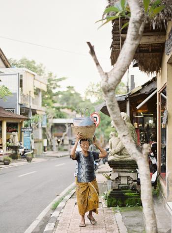 Ubud Bali Street Scenes