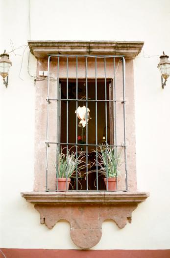 Window in San Miguel de Allende