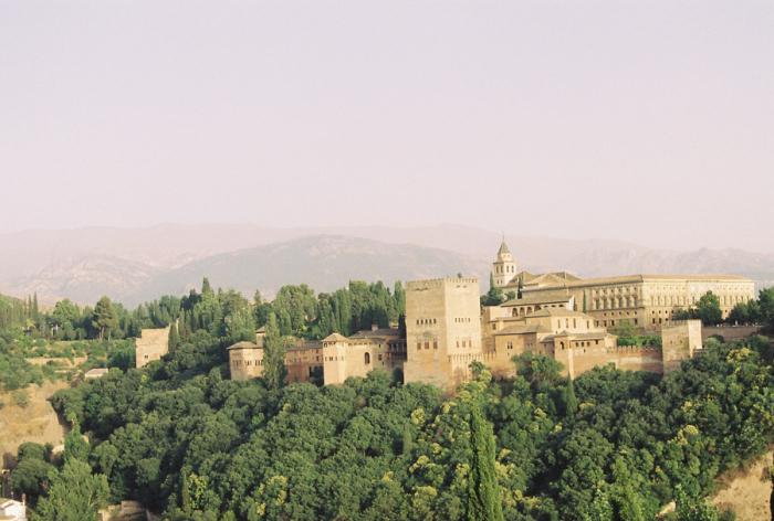 Alhambra from Mirador San Nicolas
