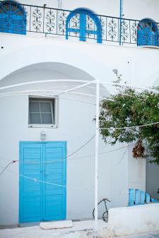 Blue Doors Santorini