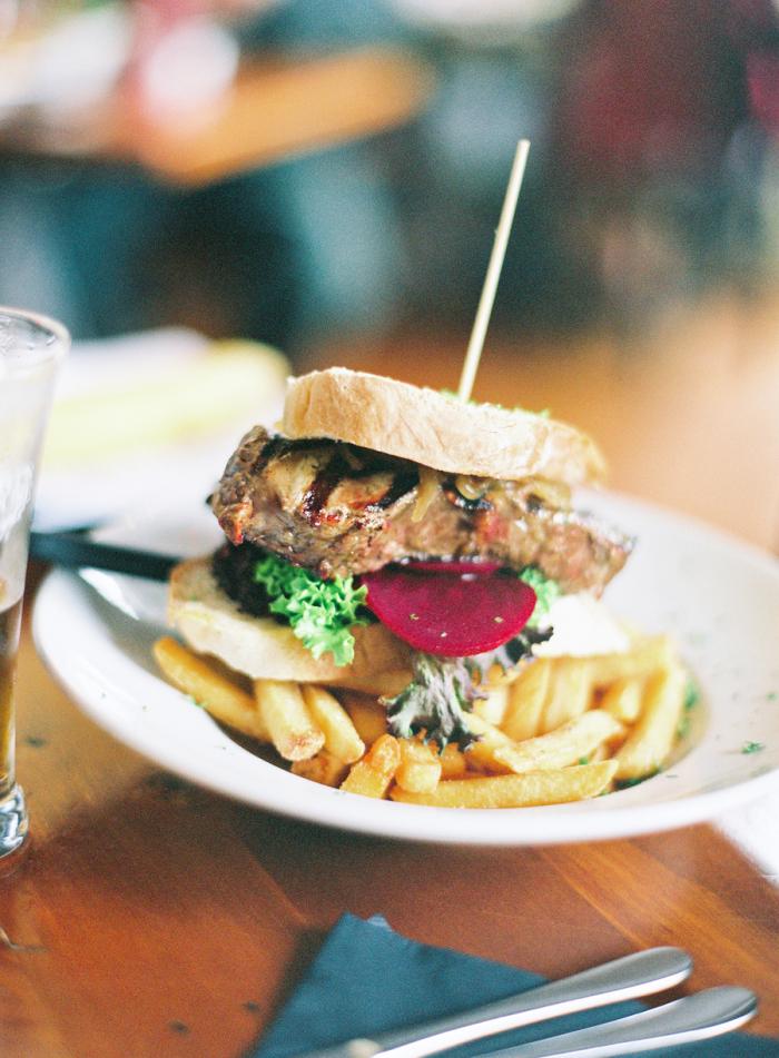 Burger in Greymouth