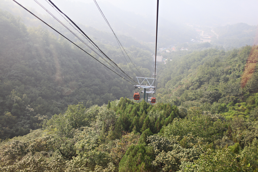 Cable Car Mutianyu Great Wall Entouriste