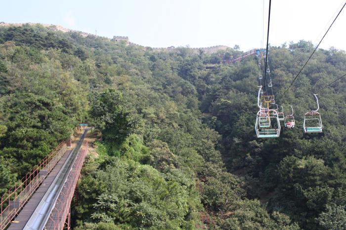 Chair Lift Mutianyu Great Wall