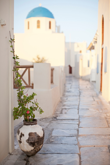 Foot Path in Oia