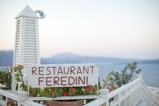 Oia Restaurant Feredini