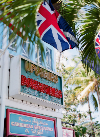 Marina Cay Pusser's Bar