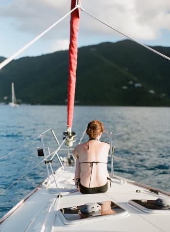 Sailing in the British Virgin Islands