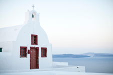 Santorini White Chapel