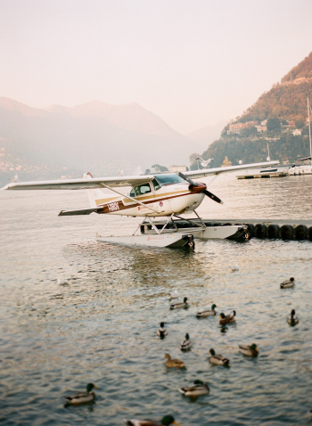 Seaplane in Como