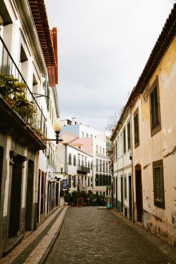Street in Madeira