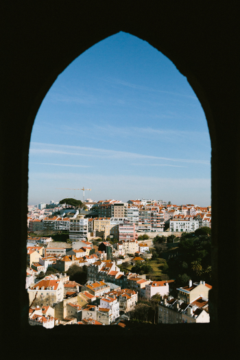 View from St. George's Castle Lisbon