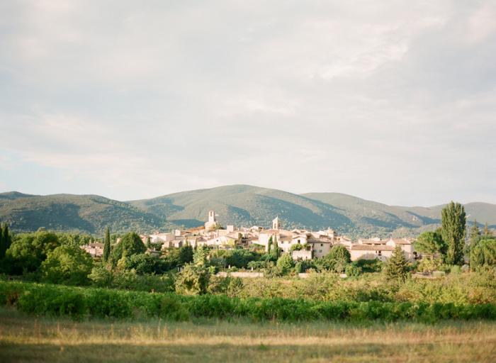 View of Lourmarin