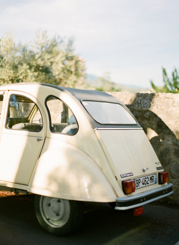 Vintage Car in Lourmarin