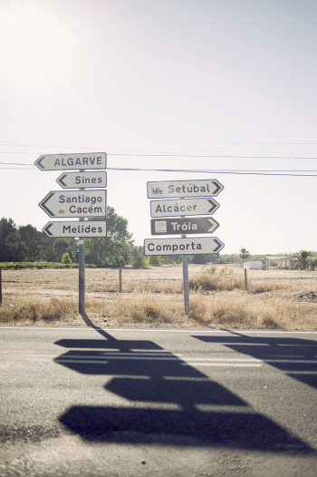 Portugal Road Signs