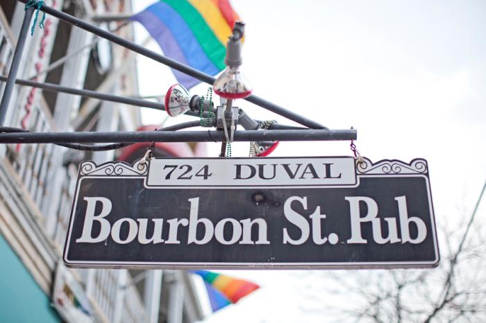 Bourbon Street Pub in Mallory Square