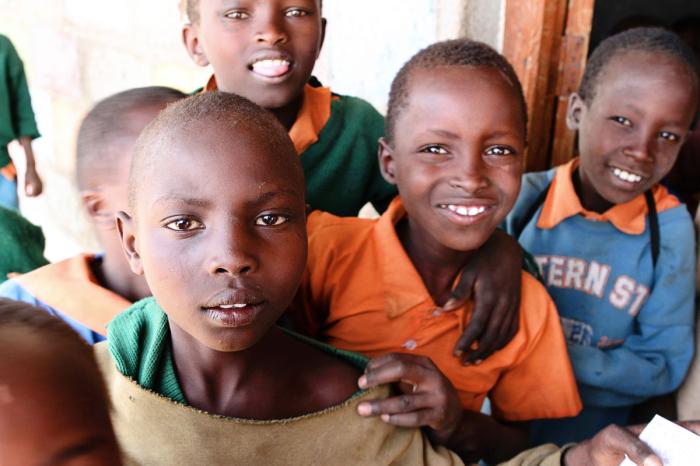 Children Nkiloriti School