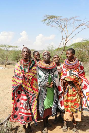 Colorful Maasai Sarongs