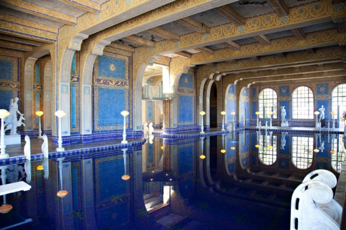 Indoor Pool Hearst Castle