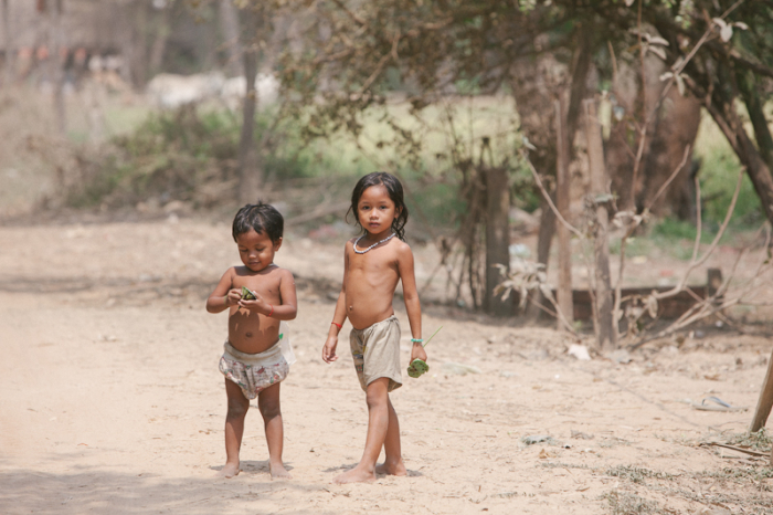 Little Children in Cambodia