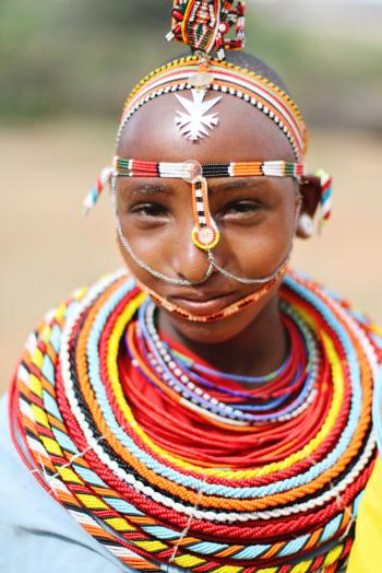 Maasai Woman Kenya