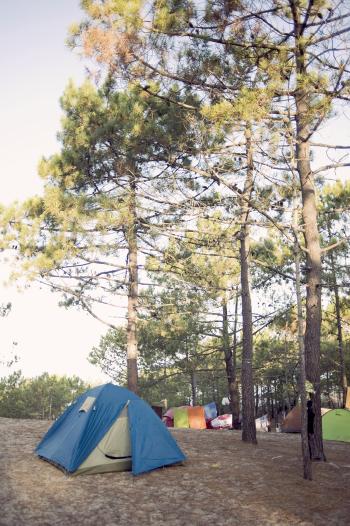 Malhao Beach Camping