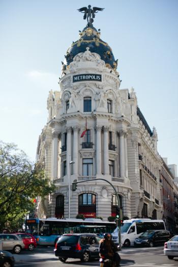 Metropolis Building Madrid