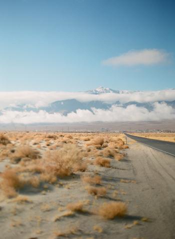 Mojave Desert Open Road