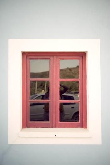 Pink Pedralva Window