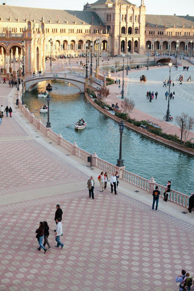 Seville Plaza de Espana - Entouriste