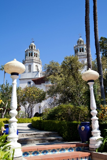 Stairs to Hearst Castle