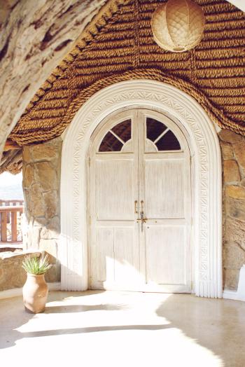 Sultan's House Ol Lentille Door