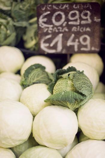 Vegetable Market Rome