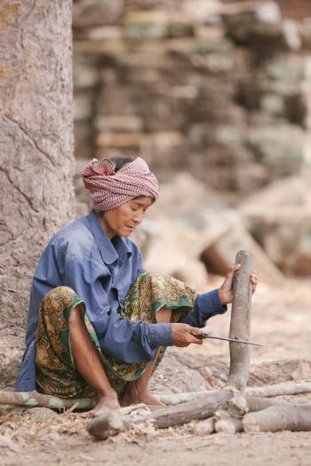Woman Cambodia