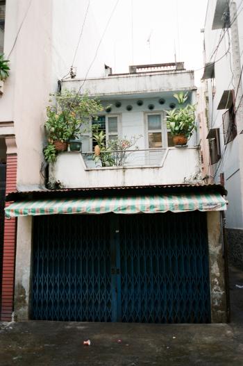 Balcony in Ho Chi Minh Vietnam