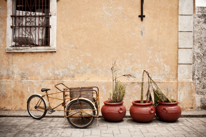 Bicycle Cart in Valladolid
