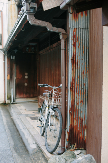 Bicycle in the Streets of Nara