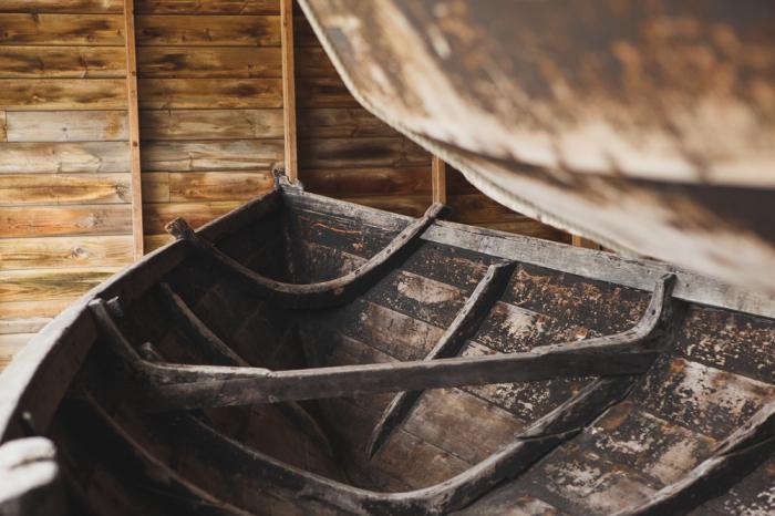 Boat in Bergen Norway