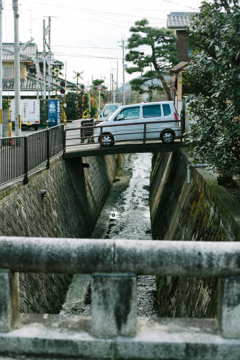 Car Bridge in Kyoto
