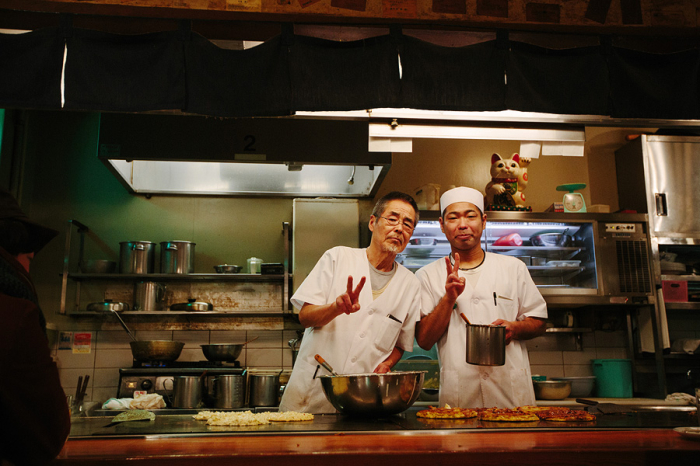 Chefs in Osaka Japan