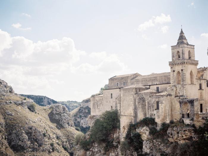 Church at Sassi Caves Italy